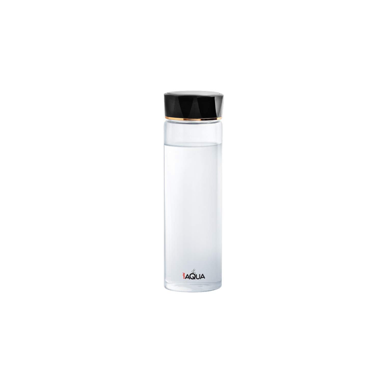 Cello Aqua Borosilicate Glass Water Bottle, 450ML