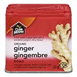 Club House, Quality Natural Herbs & Spices, Ground Ginger, Plastic Can, 32g