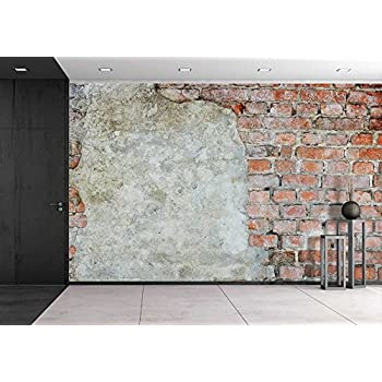 Wall26   Old Brick Wall Background Or Texture   Removable Wall Mural |  Self Adhesive Large Wallpaper   66x96 Inches