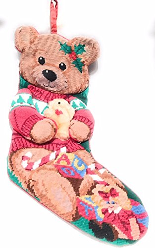 christmas-bear-stocking-in-needlepoint