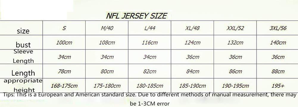 LLXLJ Rugby Maglia Uomini 49ers di San Francisco 49ers 10 GAROPPOLO Legendary Jersey Ricamato,10,S