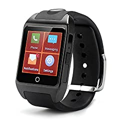 inWatch Z Bluetooth V4.0 IP57 Waterproof Smart Watch GSM Phone High Definition 1.63 Touch Screen Android 4.2 Dual Core Bone Conduction Speaker SIM Slot NFC SMS Call Sync Weather Pedometer Mobile Camera