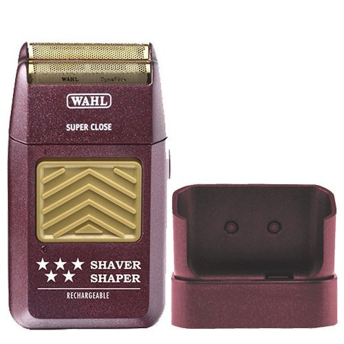 Wahl 5-Star Rechargeable Mens Foil Shaver with Bump Prevent Technology, and Close Cutting Hypoallergenic Gold Foil…