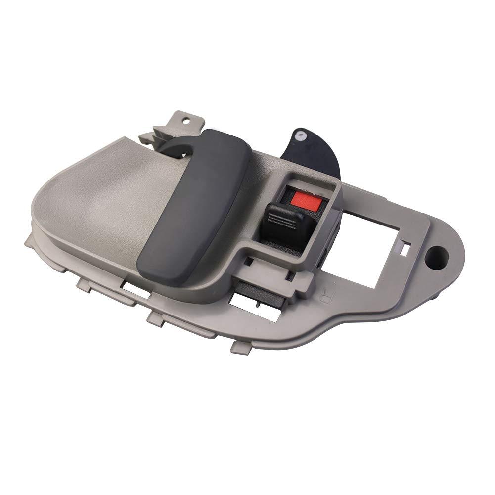 2pcs Inside Interior Door Handle Driver /& Passenger Side for 1995-2000 Chevrolet Silverado Tahoe K1500 K2500 K3500 GMC C1500 C2500 C3500 Pickup Truck SUV 15708043 15708044