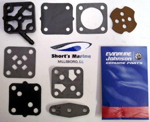 Fuel Pump Repair - OEM Evinrude Johnson BRP Outboard Fuel Pump Repair Kit - 393088