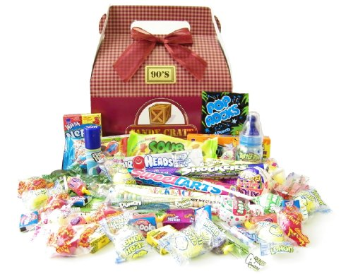 Candy Crate 1990's Retro Candy Gift - Retro 1990