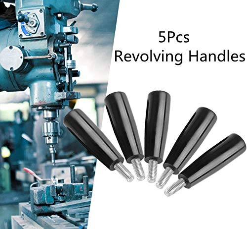 Easy and Convenient to Remove Milling Machine Handle Revolving Handle Thread Milling Machine Replacement Accessory Tool M8 63 for The Old or Broken one