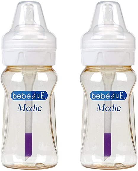 Biberon beb/éDue Medic Doble 260 ml