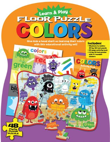 Learn and Play Floor Puzzle: Colors: Give kids a head start on learning their colors with this educational activity set! pdf epub