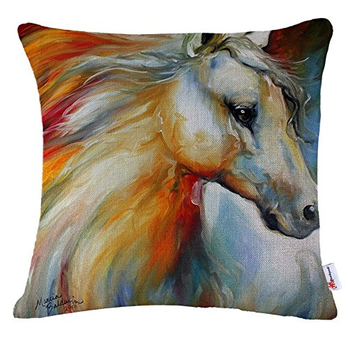 Monkeysell Pattern Vintage Decorative Pillowcase