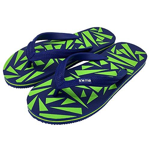 verde Flip Chanclas Flops Chanclas Flip Azul Flops verde Chanclas Azul TpwPqTx