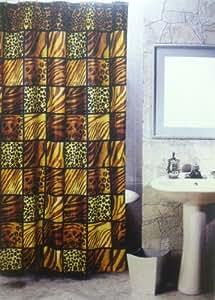 Amazon Com 5pcs Bath Rug Set Leopard Print Bathroom Rug