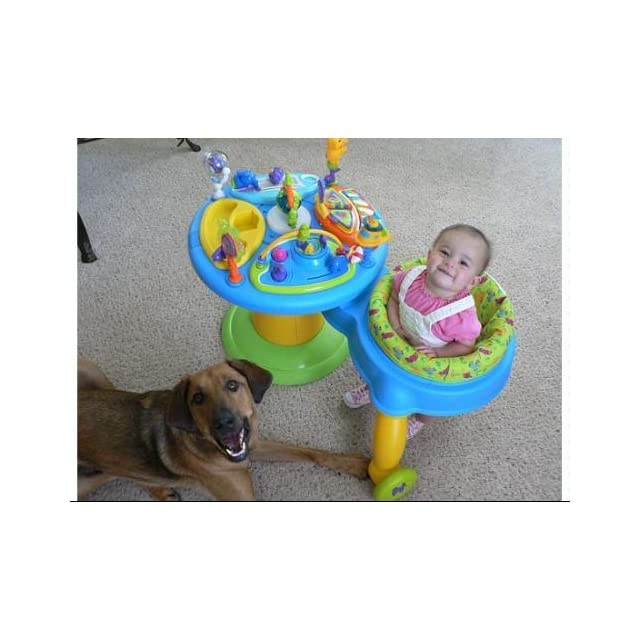 Bright Starts Around We Go Activity Station, Tropical Fun  Stationary Stand Up Baby Activity Centers  Baby