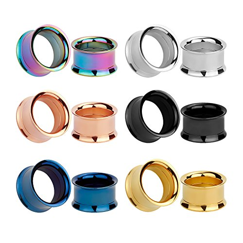 KUBOOZ Colorful Stainless Stretcher Piercings product image