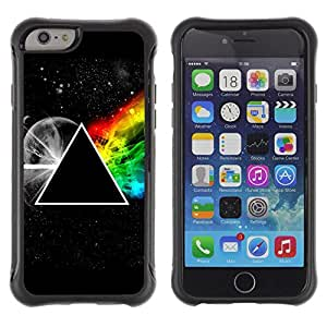 Lady Case@ Triangle Secret Symbolics Universe Rainbow Rugged Hybrid Armor Slim Protection Case Cover Shell For iphone 6 6S CASE Cover ,iphone 6 4.7 case,iphone 6 cover ,Cases for iphone 6S 4.7