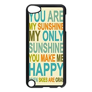 Custom Cell Phone Case for Ipod Touch 5 with You are my sunshine shsu_7647262 at SHSHU by lolosakes