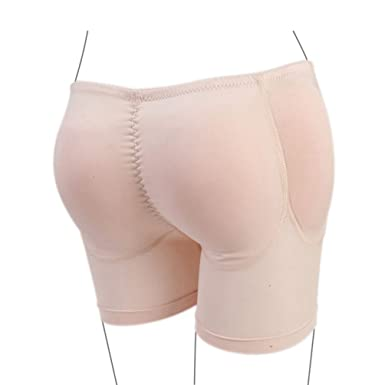 82dbf350fd Image Unavailable. Image not available for. Color  Zarbrina Womens Fake  Buttock Briefs Butt Lifter Padded Control Panties Hip Enhancer Underwear  Shapewear ...