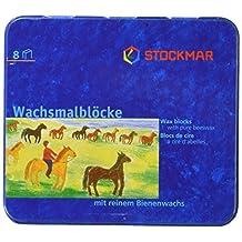 Stockmar Beeswax Block Crayons - 8 Asst Waldorf Colors in a Tin
