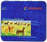 Stockmar Beeswax Block Crayons,8 Assorted Waldorf