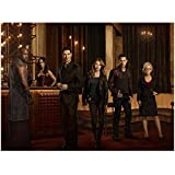 #5: Lucifer Tom Ellis as Lucifer Morningstar with Cast Chloe Mazikeen Rachael Kevin Amenadiel 8 x 10 inch photo