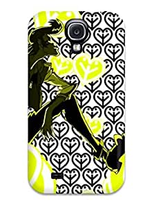 Slim Fit Tpu Protector Shock Absorbent Bumper Space Dandy Anime Background Image Case For Galaxy S4