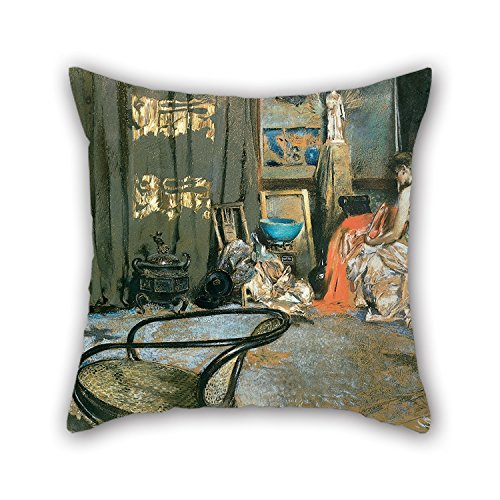 [Slimmingpiggy Pillowcover 16 X 16 Inches / 40 By 40 Cm(double Sides) Nice Choice For Lounge,bench,couples,indoor,kids Girls,outdoor Oil Painting Robert Frederick Blum - Studio Of Robert F.] (Tigger Costume Makeup)