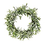 The Round Top Collection - Frosted Mistletoe Wreath