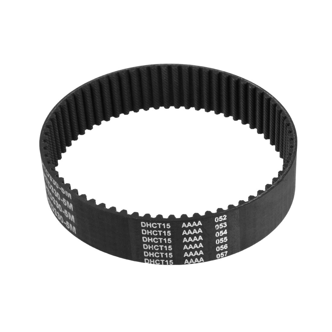 uxcell HTD 5M330 Rubber Timing Belt Synchronous Closed Loop Belt Timing Pulley Tools 25mm Width