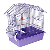 D DOLITY Bird Cage,Easy to Install,Parrot Cage Finch,Budgie,Cockatiel,Macaws