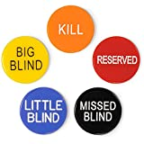 Brybelly 1'' Poker Button Combo Pack