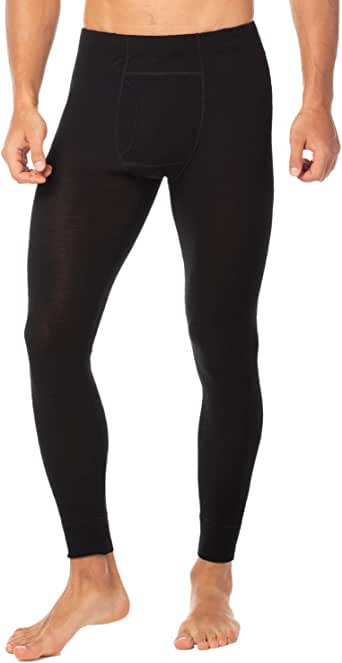 LAPASA Men's 100% Merino Wool Thermal Underwear Pants Long John Leggings Base Layer Bottom M30
