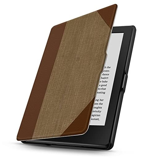 TNP Case for Kindle 8th Generation – Slim & Light Smart Cover Case with Auto Sleep & Wake for Amazon Kindle E-reader 6″ Display, 8th Generation 2016 Release (Vintage Book)