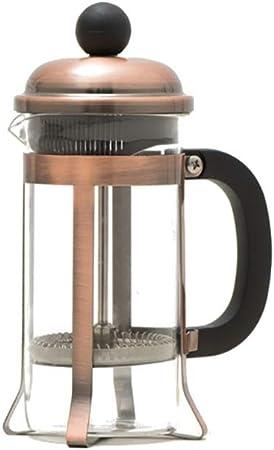 FYHKF Cafeteras de émbolo Cafetera Francesa a presión 350 ml Prensa chapada en Cobre chapada en Oro Tetera de Prensa de Filtro, 3 Colores (Color : C): Amazon.es: Hogar