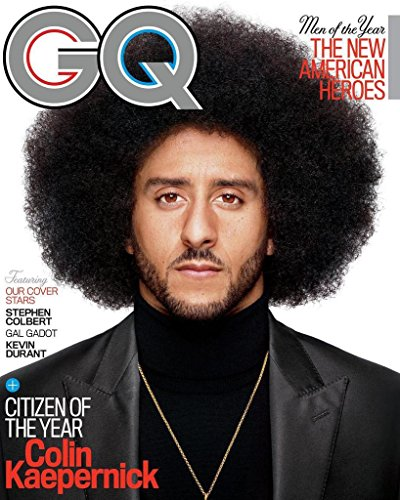 GQ Magazine (December, 2017) Men of The Year Issue Colin Kaepernick Cover