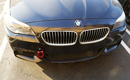 Ijdmtoy 1 Anodized Red Track Racing Style Aluminum Tow Hook For Bmw 1 2 3 4 5 X1 X3 X4 X5 X6