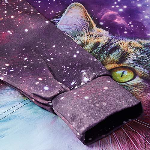 Sweat shirt À galaxie Chat Capuche Pullover 6 Ans Garçon C 16 Fille 3d Aideaone XwqHtgIx