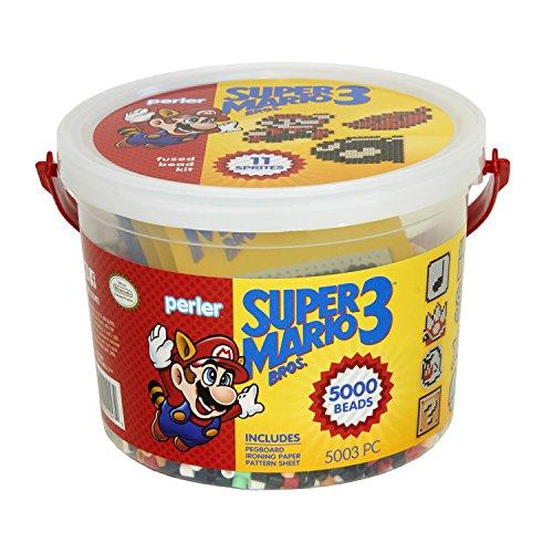 Perler Super Mario Craft Bead Bucket Activity Kit, 5003 pcs - Kit Bead Activity