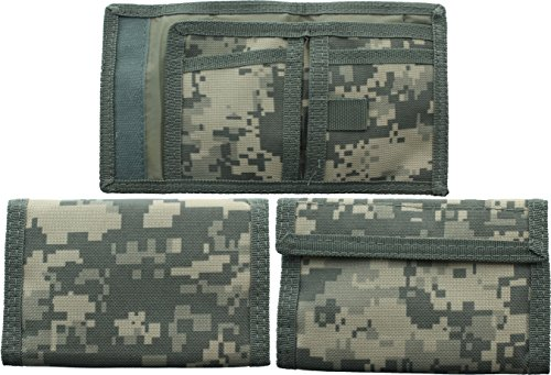 - ACU Digital Camouflage Military Tri-Fold Commando Army Wallet by Army Universe