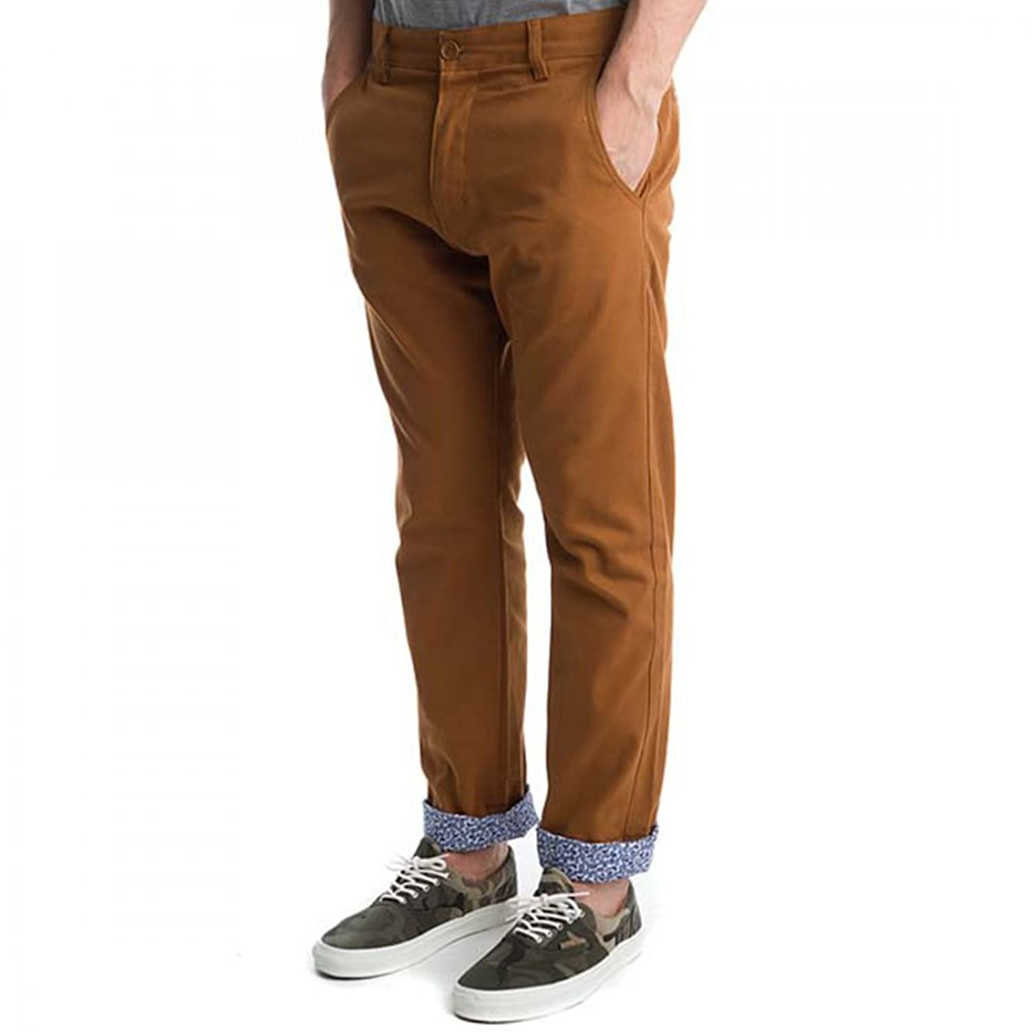 Turbokolor Premium Slim Chino Pant - Brown