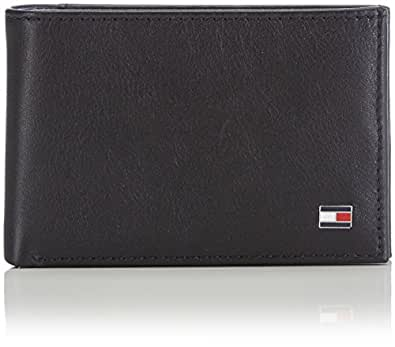 Tommy Hiliger, ETON MINI CC FLAP & COIN POCKET - Cartera, unisex, color black, talla OS