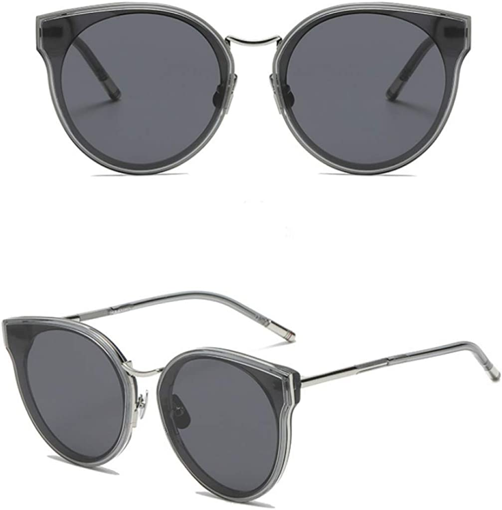 Men'S Sunglasses, Sunglasses Driver Sunglasses Fashion Sports Sunglasses Casual Outdoor Sunglasses.  Silver-Framed Black-And-Grey C2.