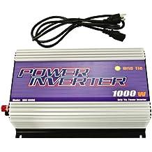 iMeshbean® 1000W Gird Tie Inverter MPPT Pure Sine wave for Solar Panel System DC 22V-60V TO AC 110V/120V USA