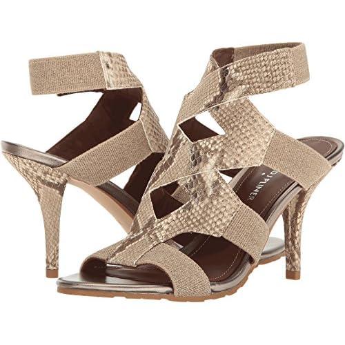 Donald J Pliner Women's Gwen Dress Sandal, Light Bronze/Natural, 7 M US