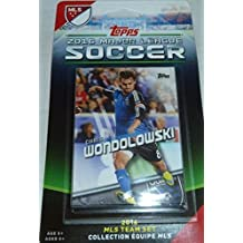 San Jose Earthquakes 2016 Topps MLS Soccer Factory Sealed 10 Card Team Set with Andrew Tarbell Rookie Card and Chris Wondolowski Plus