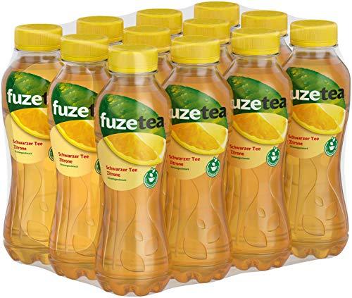 Fuze Tea Zitrone, EINWEG Flasche (12 x 400 ml)