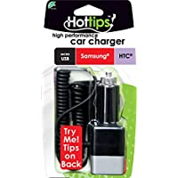 Hottips 1917614 Multi-Tip Samsung Car Charger - Case of 48
