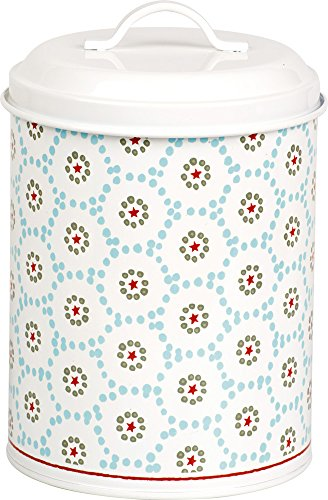 Celebrate the Home DAL743349 Holiday Fillable Cookie Tin, ()