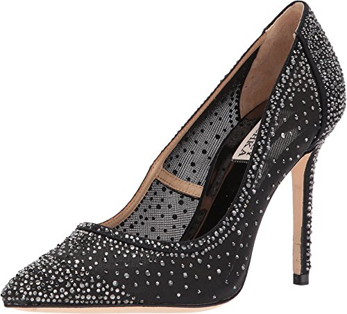Badgley Mischka Women's Weslee Pump, Black, 6 M US by Badgley Mischka