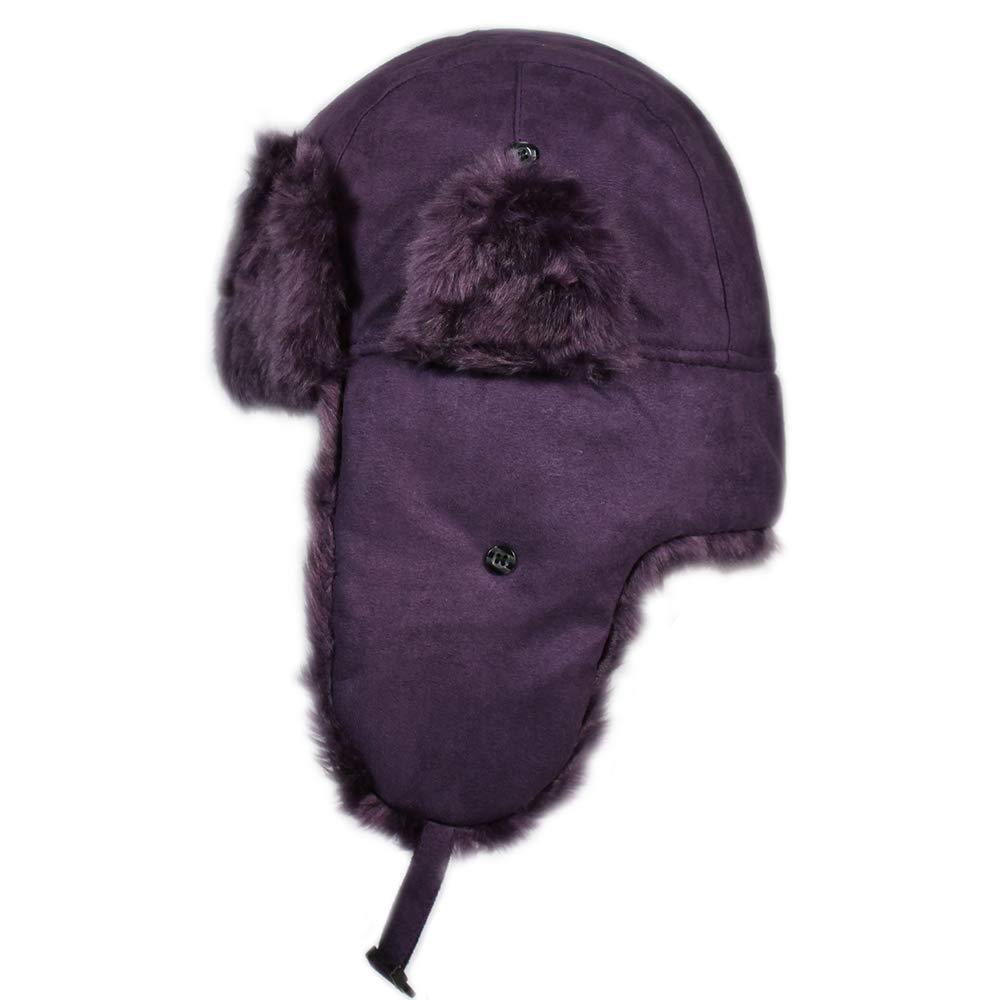 City Hunter W300 Premium Wool Solid Trapper Hats - Multi Colors  2015-W510-BKDP 8c95b1b038a6