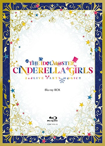THE IDOLM@STER CINDERELLA GIRLS 2ndLIVE PARTY M@GIC!! Blu-ray BOX [完全限定生産]